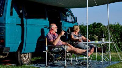 Camperplaats op Camping Midden Drenthe