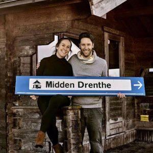 Marieanne en Hilmer: owners of Camping Midden Drenthe